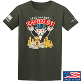 MAC Free Market Capitalist T-Shirt T-Shirts Small / Military Green by Ballistic Ink - Made in America USA