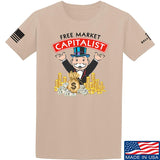 MAC Free Market Capitalist T-Shirt T-Shirts Small / Sand by Ballistic Ink - Made in America USA