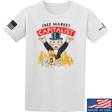 MAC Free Market Capitalist T-Shirt T-Shirts Small / White by Ballistic Ink - Made in America USA