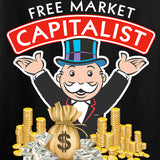 MAC Ladies Free Market Capitalist T-Shirt T-Shirts [variant_title] by Ballistic Ink - Made in America USA