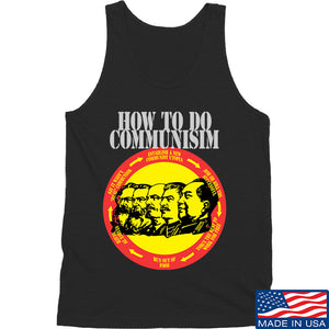 MAC How Communism Works Tank Tanks SMALL / Navy by Ballistic Ink - Made in America USA