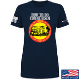 MAC Ladies How Communism Works T-Shirt T-Shirts SMALL / Navy by Ballistic Ink - Made in America USA