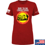 MAC Ladies How Communism Works T-Shirt T-Shirts SMALL / Red by Ballistic Ink - Made in America USA