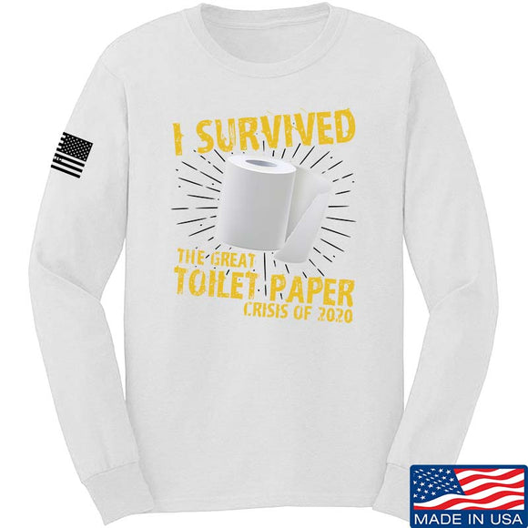 I Survived The Great Toilet Paper Crisis of 2020 Long Sleeve T-Shirt