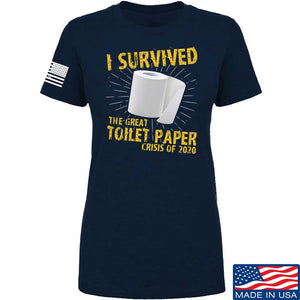 Ladies I Survived The Great Toilet Paper Crisis of 2020 T-Shirt