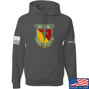 MAC MAC Military Arms Channel Logo Hoodie Hoodies Small / Black by Ballistic Ink - Made in America USA