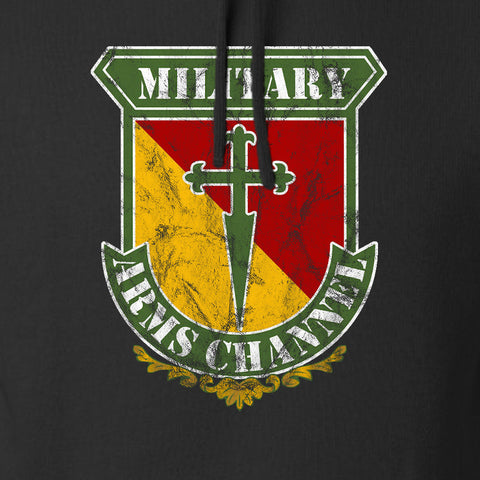 MAC MAC Military Arms Channel Logo Hoodie Hoodies [variant_title] by Ballistic Ink - Made in America USA