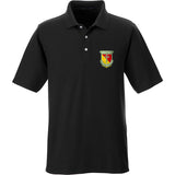 MAC MAC Military Arms Channel Logo Polo Polos Small / Black by Ballistic Ink - Made in America USA