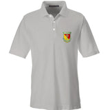 MAC MAC Military Arms Channel Logo Polo Polos Small / Silver by Ballistic Ink - Made in America USA