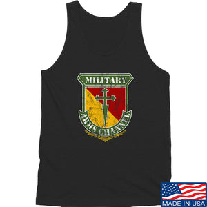 MAC MAC Military Arms Channel Logo Tank Tanks SMALL / Charcoal by Ballistic Ink - Made in America USA