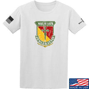 MAC MAC Military Arms Channel Logo T-Shirt T-Shirts Small / Military Green by Ballistic Ink - Made in America USA