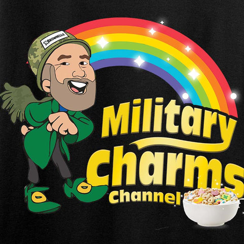 Military Charms Channel Tank