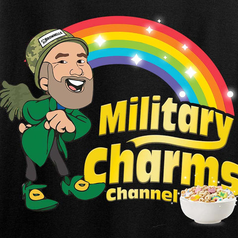 Ladies Military Charms Channel T-Shirt