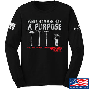 MAC Tools Of The Trade Long Sleeve T-Shirt Long Sleeve Small / Light Grey by Ballistic Ink - Made in America USA