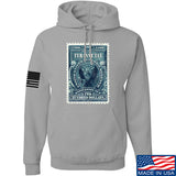 MAC Tyranny Tax Hoodie Hoodies Small / Light Grey by Ballistic Ink - Made in America USA