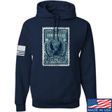 MAC Tyranny Tax Hoodie Hoodies Small / Navy by Ballistic Ink - Made in America USA