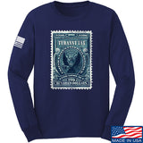 MAC Tyranny Tax Long Sleeve T-Shirt Long Sleeve Small / Navy by Ballistic Ink - Made in America USA