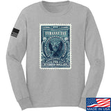 MAC Tyranny Tax Long Sleeve T-Shirt Long Sleeve Small / Light Grey by Ballistic Ink - Made in America USA