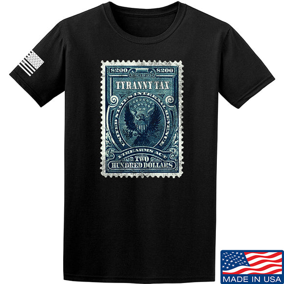 MAC Tyranny Tax T-Shirt T-Shirts Small / Black by Ballistic Ink - Made in America USA