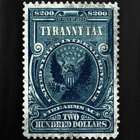 MAC Ladies Tyranny Tax T-Shirt T-Shirts [variant_title] by Ballistic Ink - Made in America USA