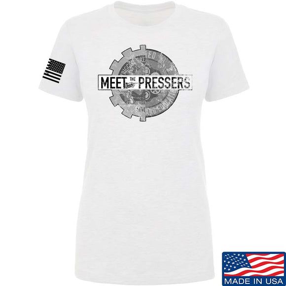 Ladies Meet The Pressers Logo T-Shirt