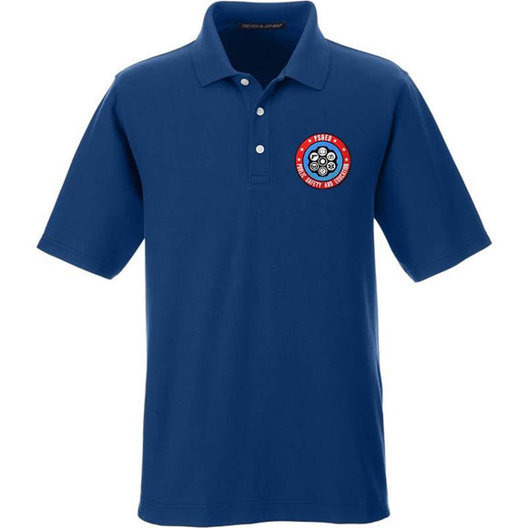 Meet The Pressers PS&ED Logo Polo