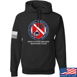 Men of Arms Apparel ATF Underwater Firearm Recovery Hoodie Hoodies Small / Black by Ballistic Ink - Made in America USA