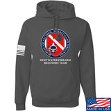 Men of Arms Apparel ATF Underwater Firearm Recovery Hoodie Hoodies Small / Charcoal by Ballistic Ink - Made in America USA