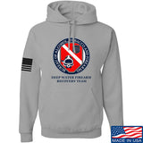 Men of Arms Apparel ATF Underwater Firearm Recovery Hoodie Hoodies Small / Light Grey by Ballistic Ink - Made in America USA