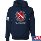 Men of Arms Apparel ATF Underwater Firearm Recovery Hoodie Hoodies Small / Navy by Ballistic Ink - Made in America USA