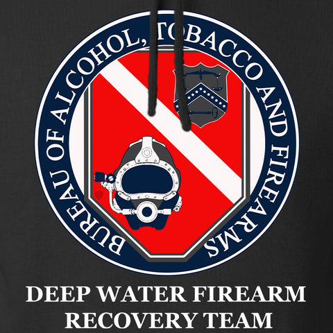 Men of Arms Apparel ATF Underwater Firearm Recovery Hoodie Hoodies [variant_title] by Ballistic Ink - Made in America USA