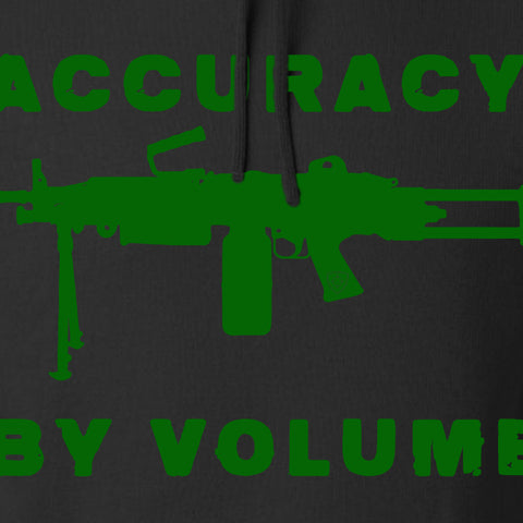 Men of Arms Apparel Accuracy by Volume Hoodie Hoodies [variant_title] by Ballistic Ink - Made in America USA