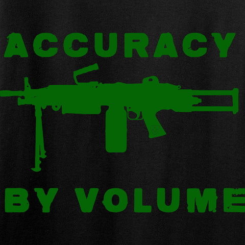 Men of Arms Apparel Accuracy by Volume T-Shirt T-Shirts [variant_title] by Ballistic Ink - Made in America USA