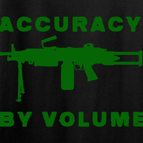 Men of Arms Apparel Ladies Accuracy by Volume V-Neck T-Shirts, V-Neck [variant_title] by Ballistic Ink - Made in America USA