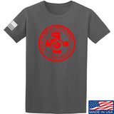 Men of Arms Apparel Come and Get It T-Shirt T-Shirts Small / Charcoal by Ballistic Ink - Made in America USA
