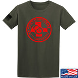 Men of Arms Apparel Come and Get It T-Shirt T-Shirts Small / Military Green by Ballistic Ink - Made in America USA
