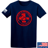 Men of Arms Apparel Come and Get It T-Shirt T-Shirts Small / Navy by Ballistic Ink - Made in America USA