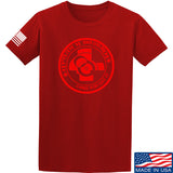 Men of Arms Apparel Come and Get It T-Shirt T-Shirts Small / Red by Ballistic Ink - Made in America USA