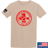 Men of Arms Apparel Come and Get It T-Shirt T-Shirts Small / Sand by Ballistic Ink - Made in America USA