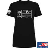 Men of Arms Apparel Ladies DTOM Join or Die T-Shirt T-Shirts SMALL / Black by Ballistic Ink - Made in America USA