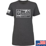 Men of Arms Apparel Ladies DTOM Join or Die T-Shirt T-Shirts SMALL / Charcoal by Ballistic Ink - Made in America USA
