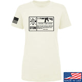 Men of Arms Apparel Ladies DTOM Join or Die T-Shirt T-Shirts SMALL / Cream by Ballistic Ink - Made in America USA