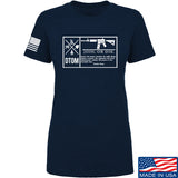 Men of Arms Apparel Ladies DTOM Join or Die T-Shirt T-Shirts SMALL / Navy by Ballistic Ink - Made in America USA