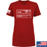 Men of Arms Apparel Ladies DTOM Join or Die T-Shirt T-Shirts SMALL / Red by Ballistic Ink - Made in America USA