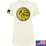 Men of Arms Apparel Ladies Defiance Not Obedience T-Shirt T-Shirts SMALL / Cream by Ballistic Ink - Made in America USA