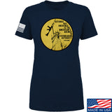Men of Arms Apparel Ladies Defiance Not Obedience T-Shirt T-Shirts SMALL / Navy by Ballistic Ink - Made in America USA