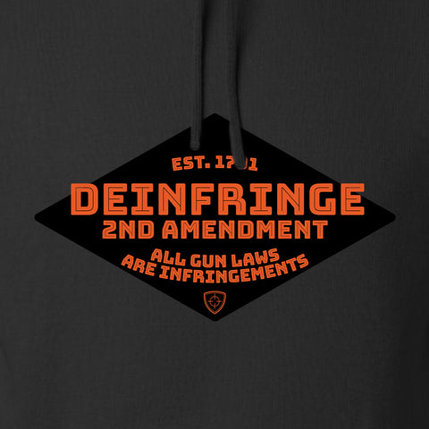 Men of Arms Apparel Deinfringe the 2nd Hoodie Hoodies [variant_title] by Ballistic Ink - Made in America USA