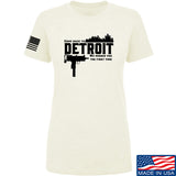 Men of Arms Apparel Ladies Detroit T-Shirt T-Shirts SMALL / Cream by Ballistic Ink - Made in America USA