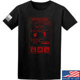 Men of Arms Apparel Extinguisher Instructions T-Shirt T-Shirts Small / Black by Ballistic Ink - Made in America USA