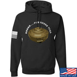 Men of Arms Apparel Forbidden Tuna Hoodie Hoodies Small / Black by Ballistic Ink - Made in America USA